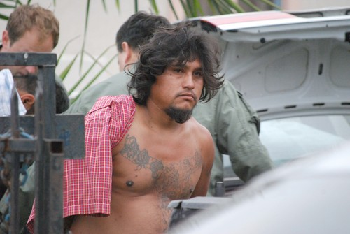 Police Arrest Suspected Member Of Varrio Hawaiian Gardens (photo by Jesse Escochea for LA Times)