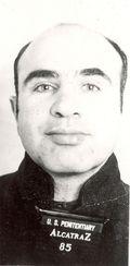 Al Capone Mugshot (Front View)